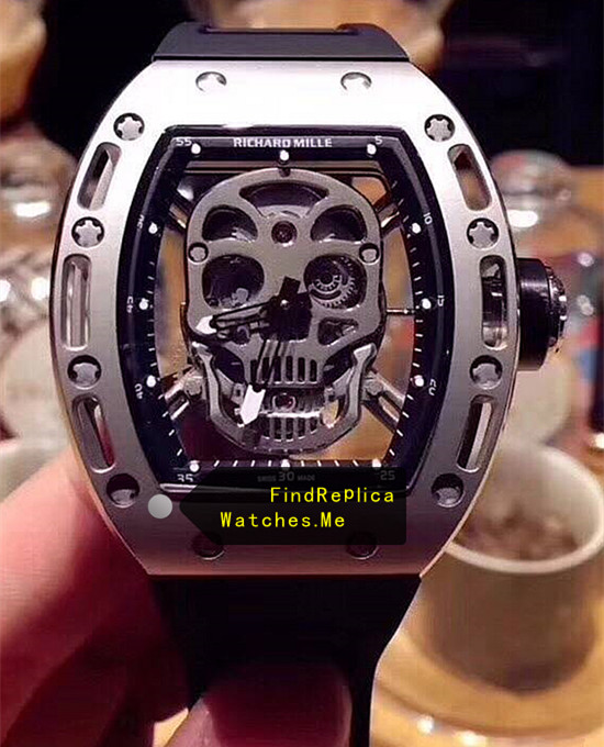 Replica Richard Mille RM 052 Titanium With Stainless Steel