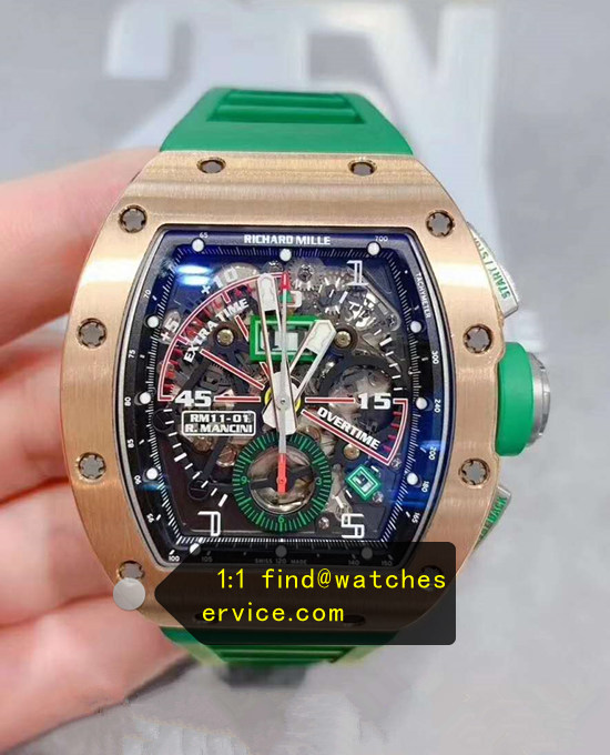 Richard Mille RM 11-01 R.Mancini Rose Gold Watch