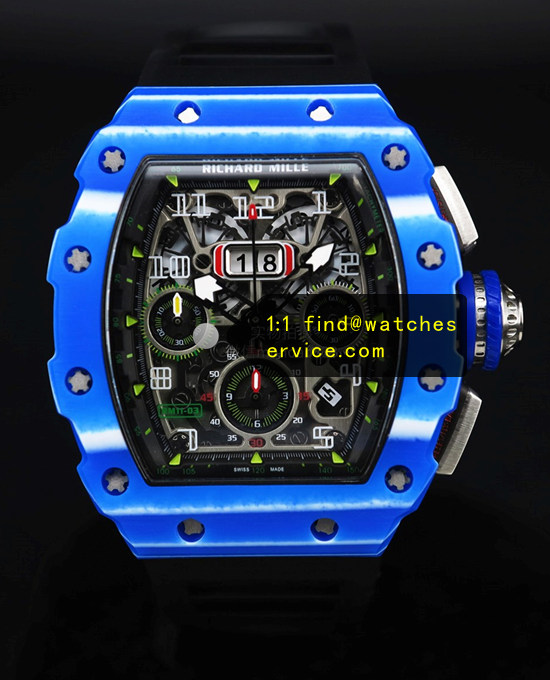 Richard Mille RM 11-03 Blue Watch