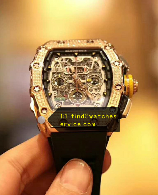 Richard Mille RM 11-03 Diamonds Rose Gold Watch