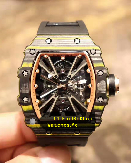 Richard Mille RM 12-01 Gold Quartz Fiber Watch