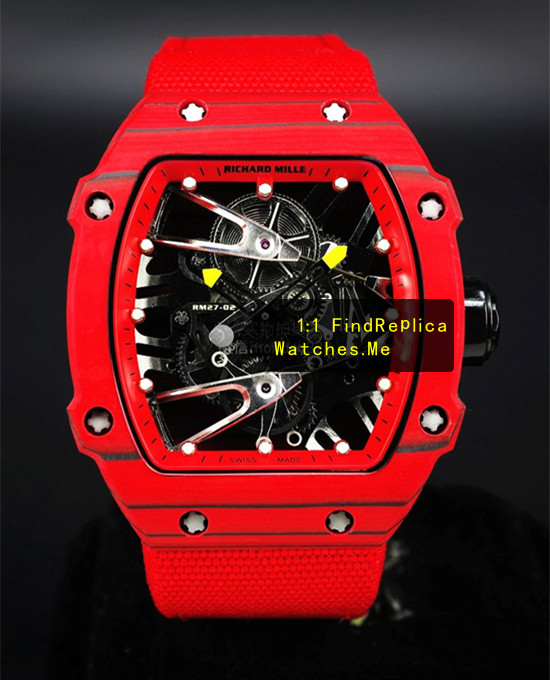 Richard Mille RM 27-02 All Red Fiber Nadal Sport Watch