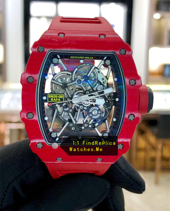 Richard Mille RM 35-02 Rafael Nadal All Red Watch