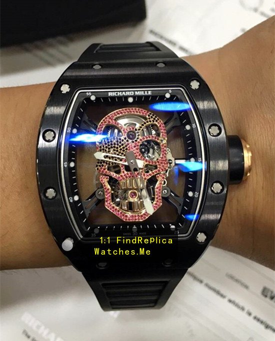 Richard Mille RM 52-01 Pink Diamond Skull Limited