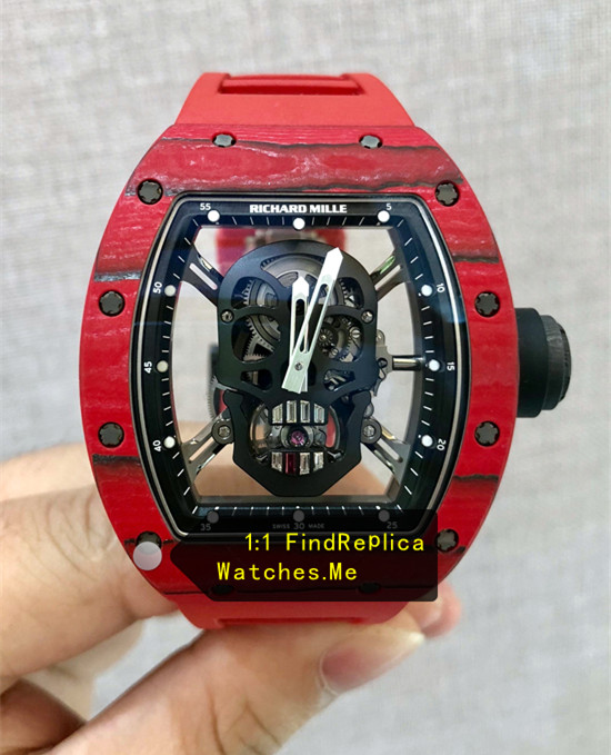 Replica Richard Mille RM 52-01 Red Carbon Fiber