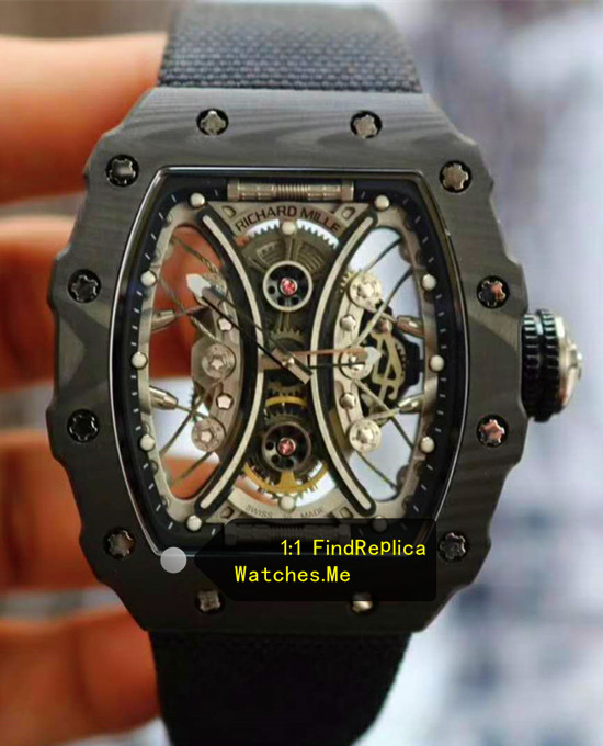 Richard Mille RM 53-01 Pablo Mac Donough All Black