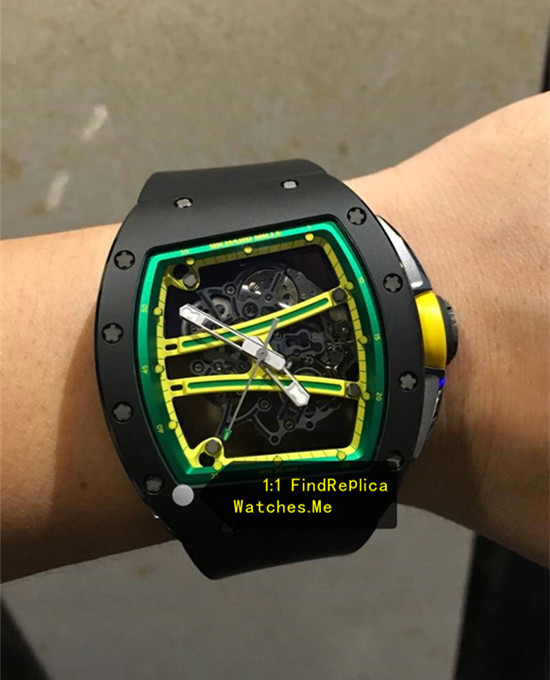 Replica Richard Mille RM 61-01 Black Yohan Blake