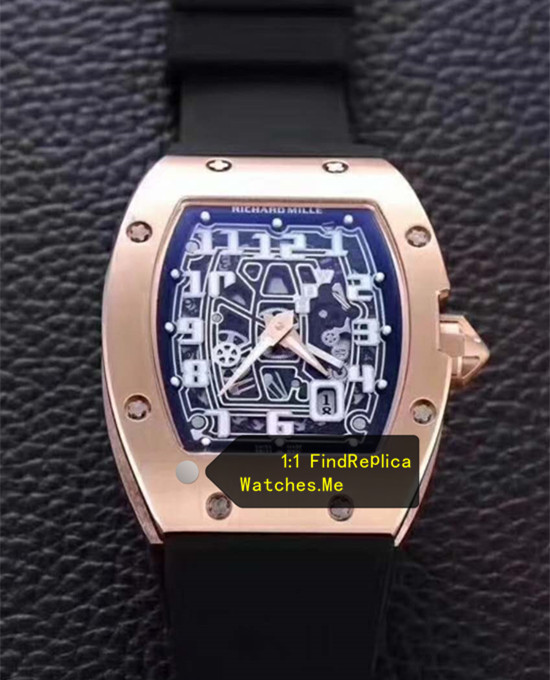Richard Mille RM 67-01 Ultra-Thin Rose Gold
