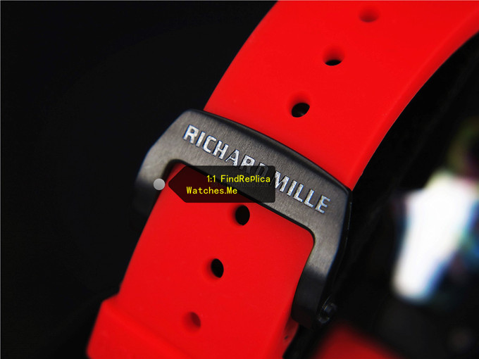 Red Rubber strap