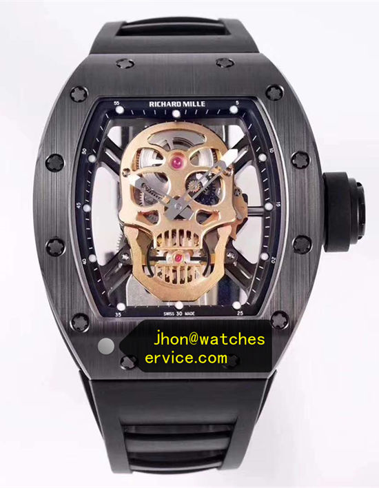 H-maker Super 1:1 Richard Mille RM 52-01 Black Ceramic