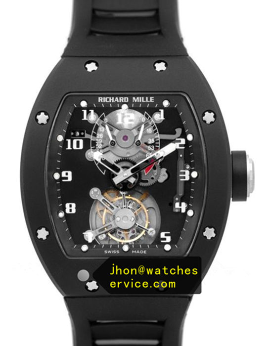 JB Richard Mille RM 001 Black Ceramic