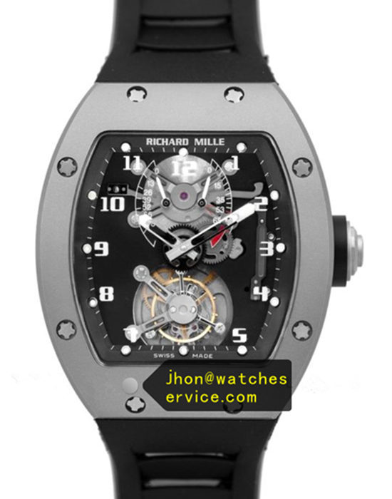 JB Richard Mille RM 001 Matt Titanium Real Tourbillon