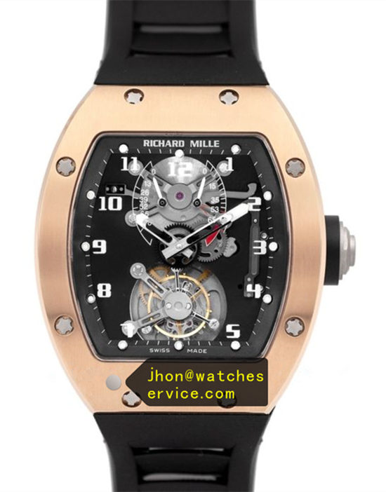 JB Richard Mille RM 001 Red Gold