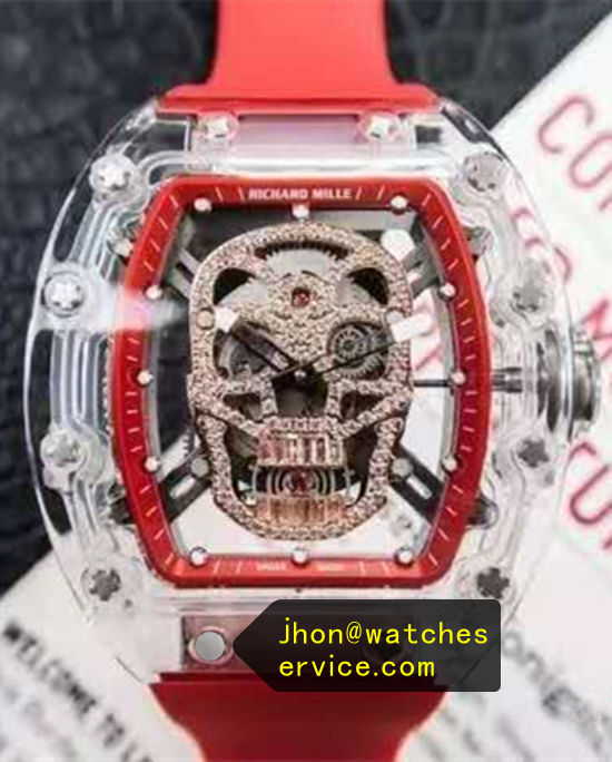 Richard Mille RM 052 Gold Skull Transparent