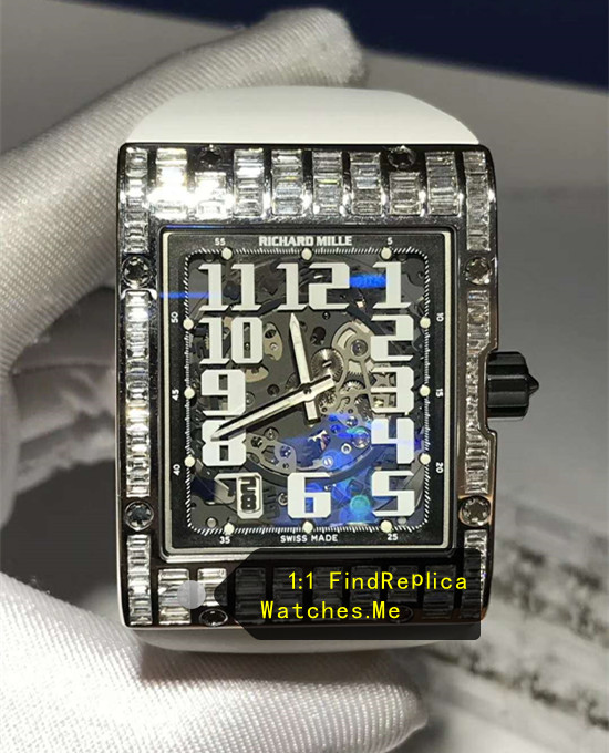 Rectangular rhinestones Richard Mille RM 016