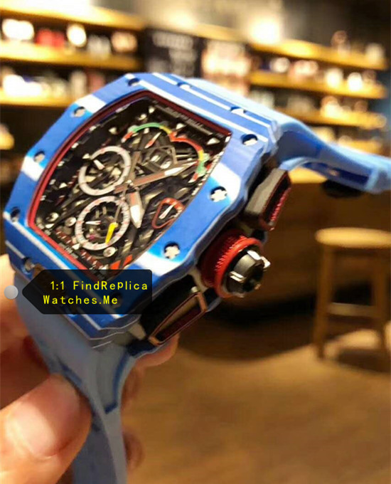 Replica Blue Richard Mille RM 50-03 McLaren F1 Sport Watch