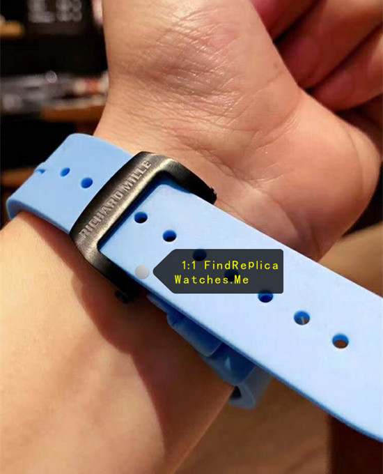 Replica Blue Richard Mille RM 50-03 McLaren F1 blue strap