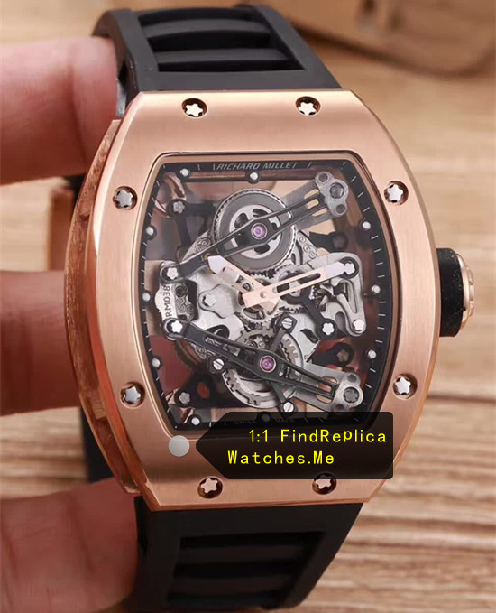 Richard Mille RM 038 Rose Gold Bubba Watson JJ-Factory