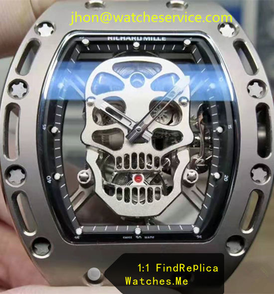 2020 Upgrade 1:1 Richard Mille RM 052 Skull True Tourbillon Watch