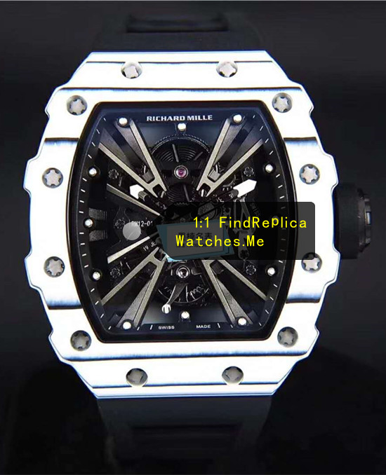Richard Mille RM 12-01 White Watch From H-maker Factory