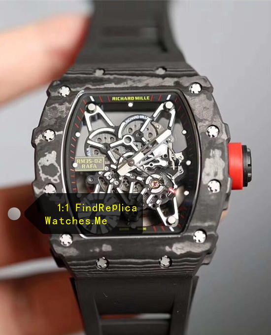 Richard Mille RM 35-02 2019 Super Carbon Fiber Sport Watch