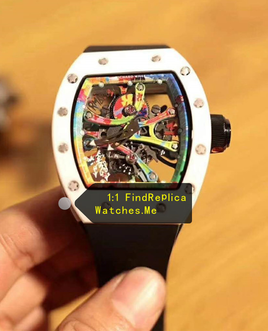 Richard Mille RM 68-01 KONGO White Bezel With Black Strap