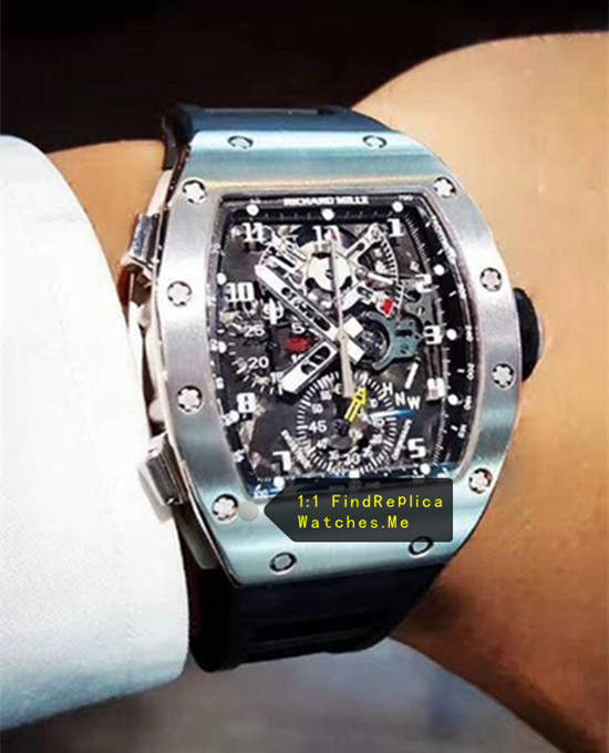 Richard Mille RM 004-V2 Limited Titanium Metal Watch