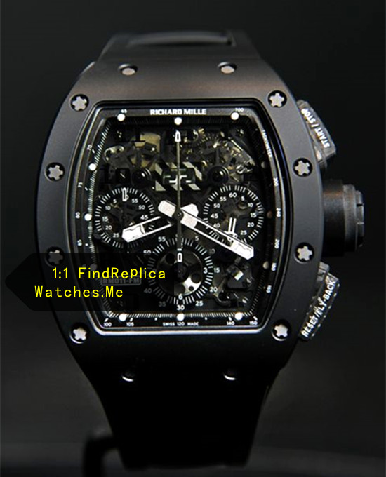Richard Mille RM 011 Black Ghost Chronograph