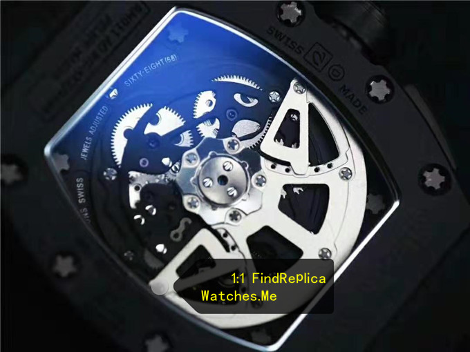 Replica Richard Mille RM 011 back