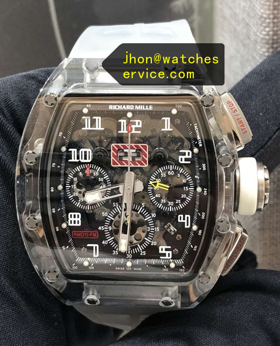 Richard Mille RM 011-FM Transparent