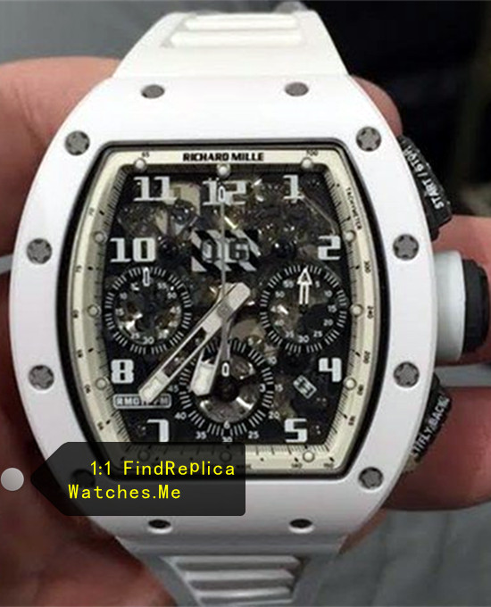 Richard Mille RM 011 White Angel Chronograph