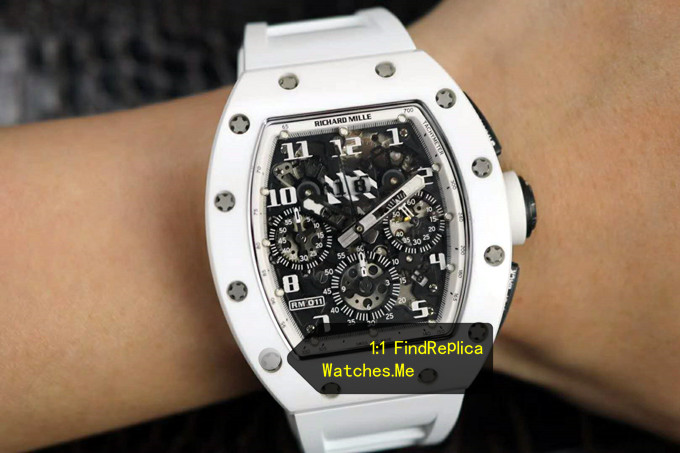 Replica Richard Mille RM 011 White Angel Watch