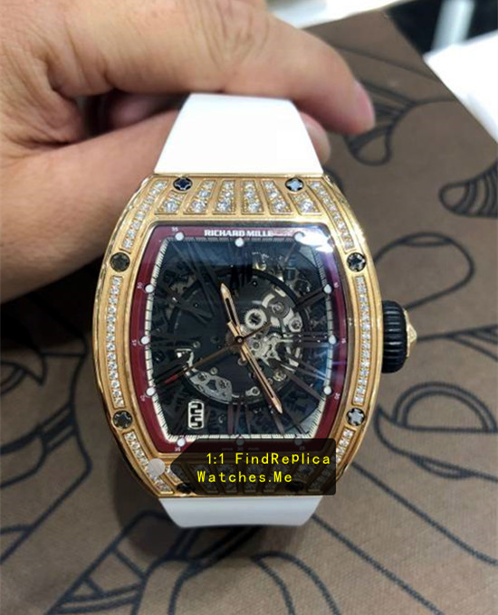 Richard Mille RM 023 Lady Diamond Version With 18k-Gold Case