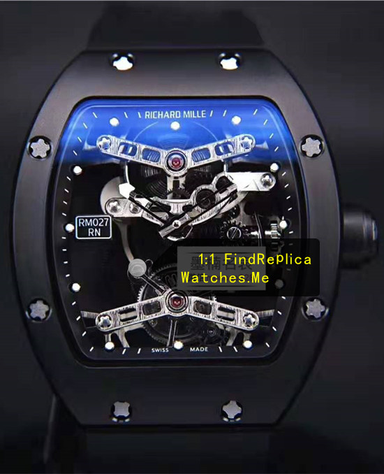 Richard Mille RM 027 Black Mixed Material Tourbillon Rafael Nadal