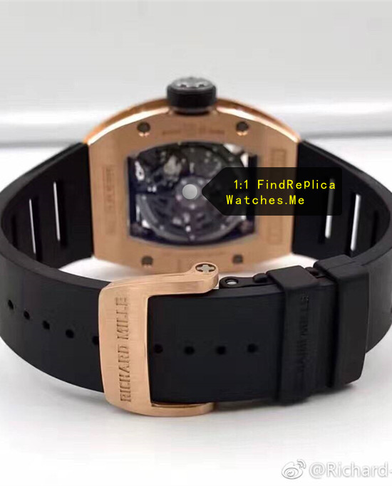 Replica Richard Mille RM 029 18k-Gold Hollow back