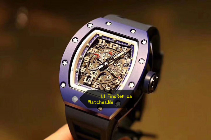 Replica Richard Mille RM 030 Blue French Paris Limited Edition