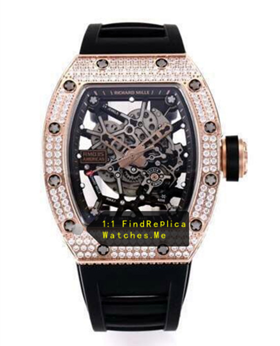 Richard Mille RM 035 Diamond With Gold From H-maker Factory