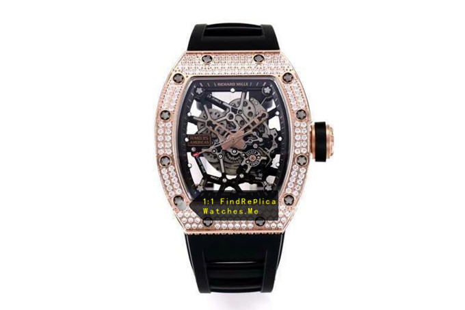 Replica Richard Mille RM 035 Diamond With Gold