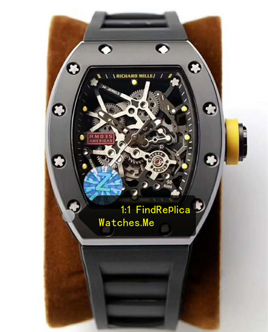 Richard Mille RM-035-Rafael Nadal Chronofiable All Black