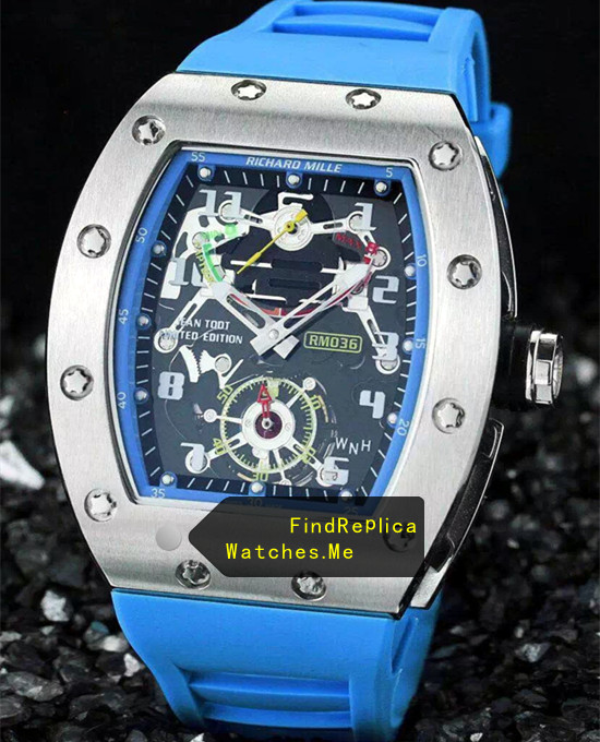 Richard Mille RM 036 Lake Blue Version 0789