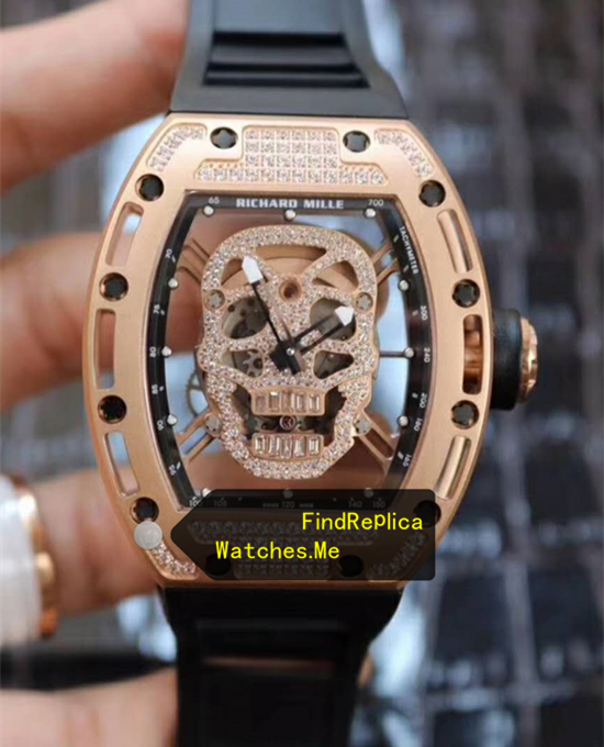 Richard Mille RM 052 Diamonds 18k-Gold From VR Watches