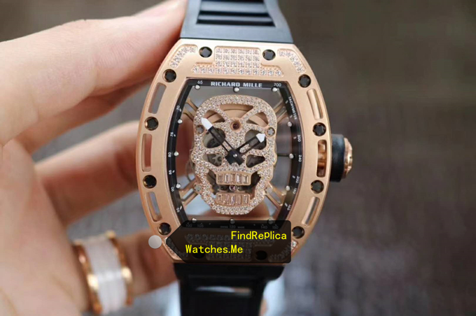 Replica Richard Mille RM 052 Diamonds 18k-Gold From VR Watches