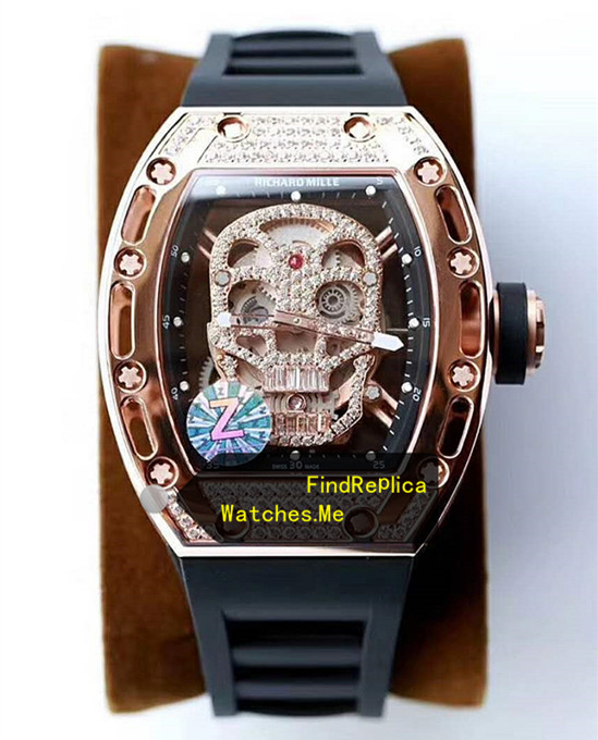 Richard Mille RM 052 Polishing Gold With Diamonds From Z Factory