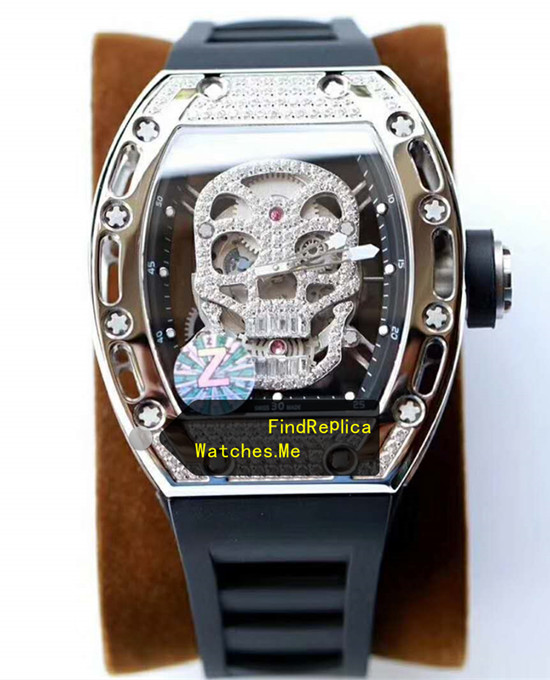 Richard Mille RM 052 Polishing Titanium With Diamonds From Z Factory