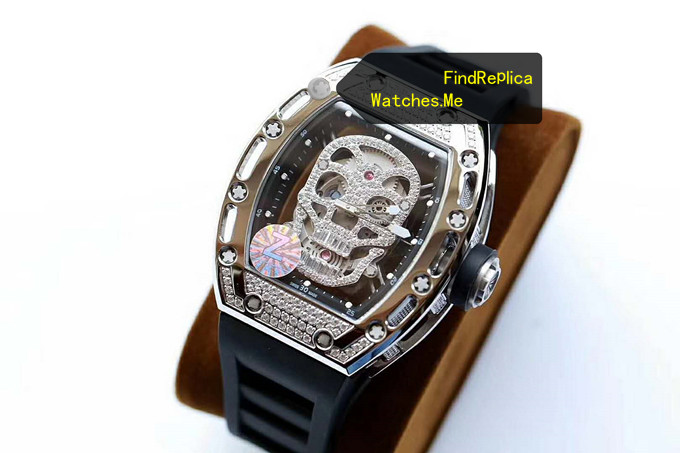Replica Richard Mille RM 052 Polishing Titanium With Diamonds From Z Factory