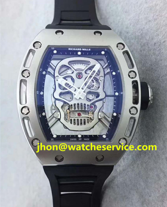 Cheap Richard Mille RM 052 SKULL Titanium Watch