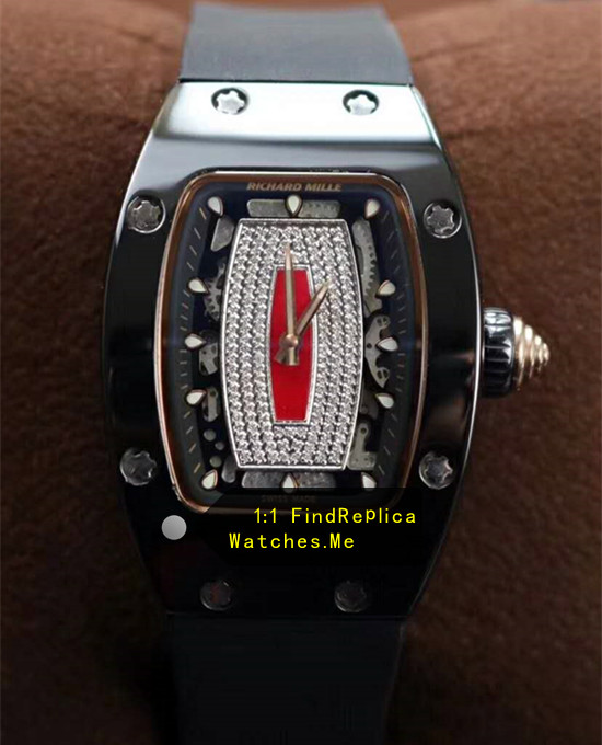 Richard Mille RM 07-01 Ladies Black Ceramic