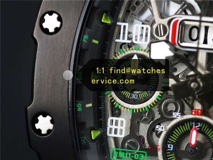 Replica Richard Mille RM 11-03 Black Watch