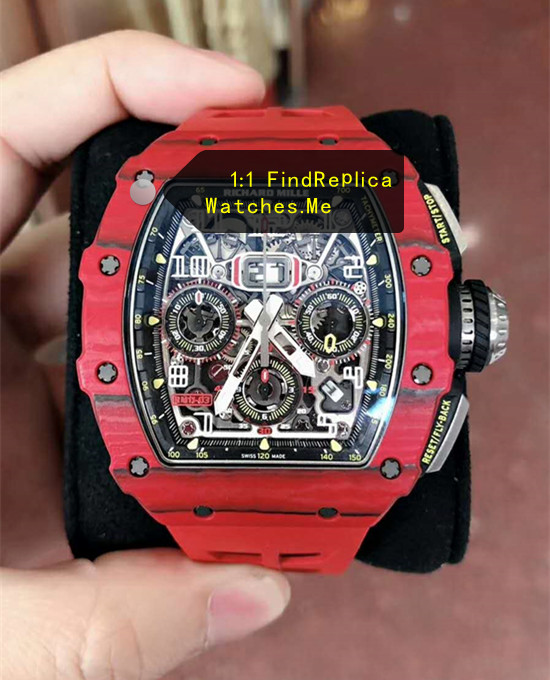 Richard Mille RM 11-03 Red Carbon Fiber Watch