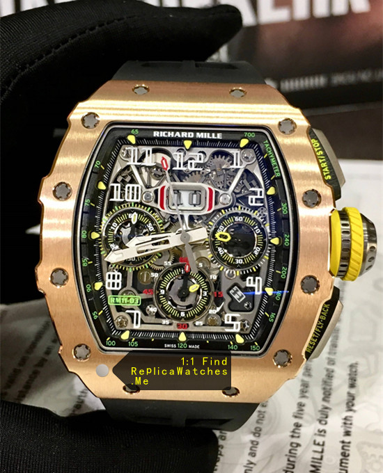 Richard Mille RM 11-03RG All Full Polished Bronze Titanium